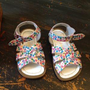 Salt Water Sandals by Hoy Floral pattern